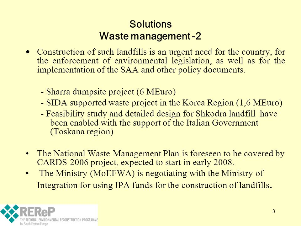 Solutions Waste management -2