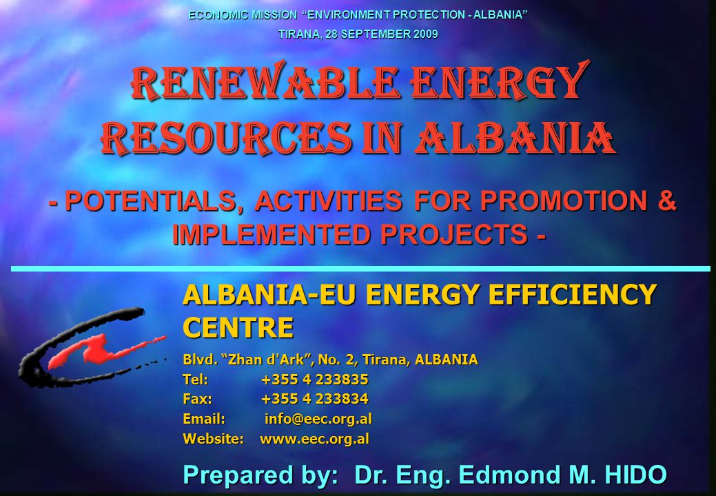 Albania-EU Energy Efficiency Centre *