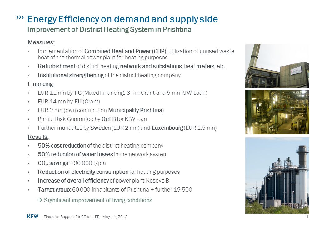 Energy Efficiency on demand and supply side Improvement of District Heating System in Prishtina