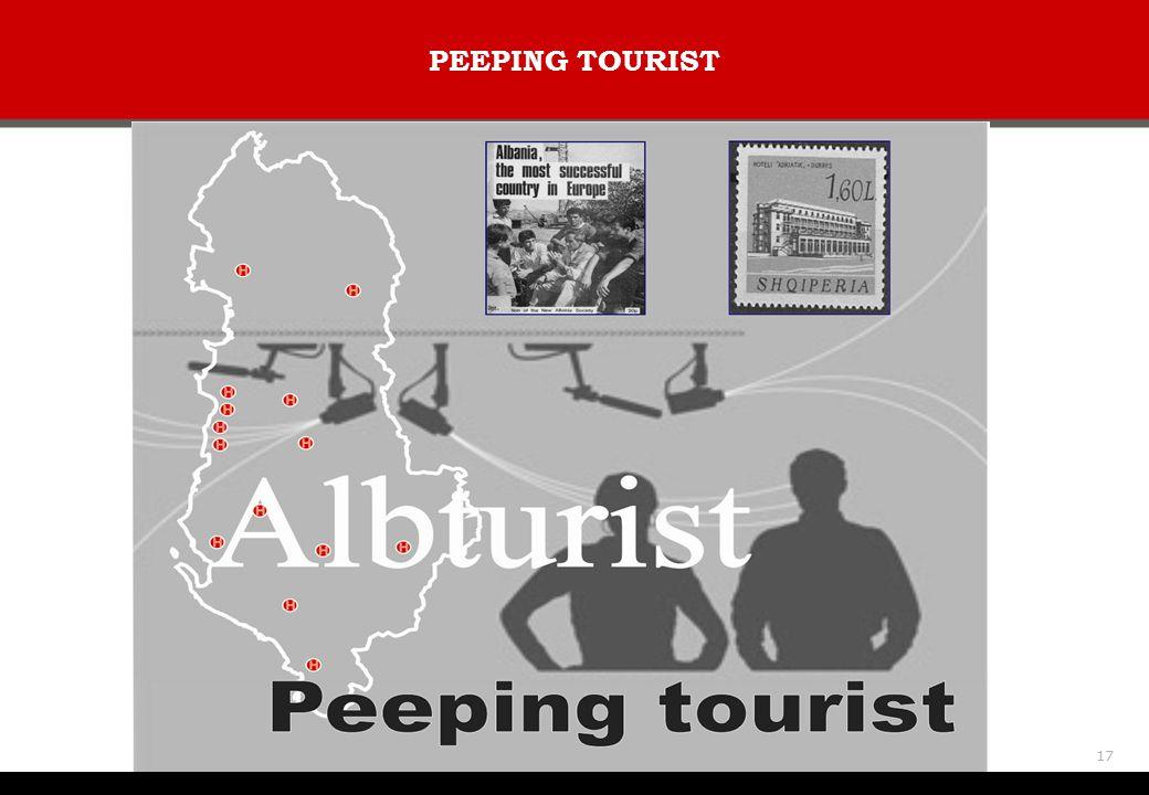 PEEPING TOURIST