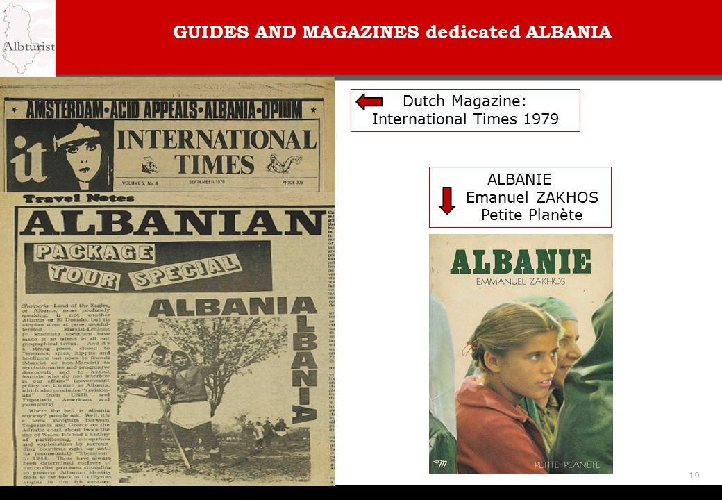 GUIDES AND MAGAZINES dedicated ALBANIA
