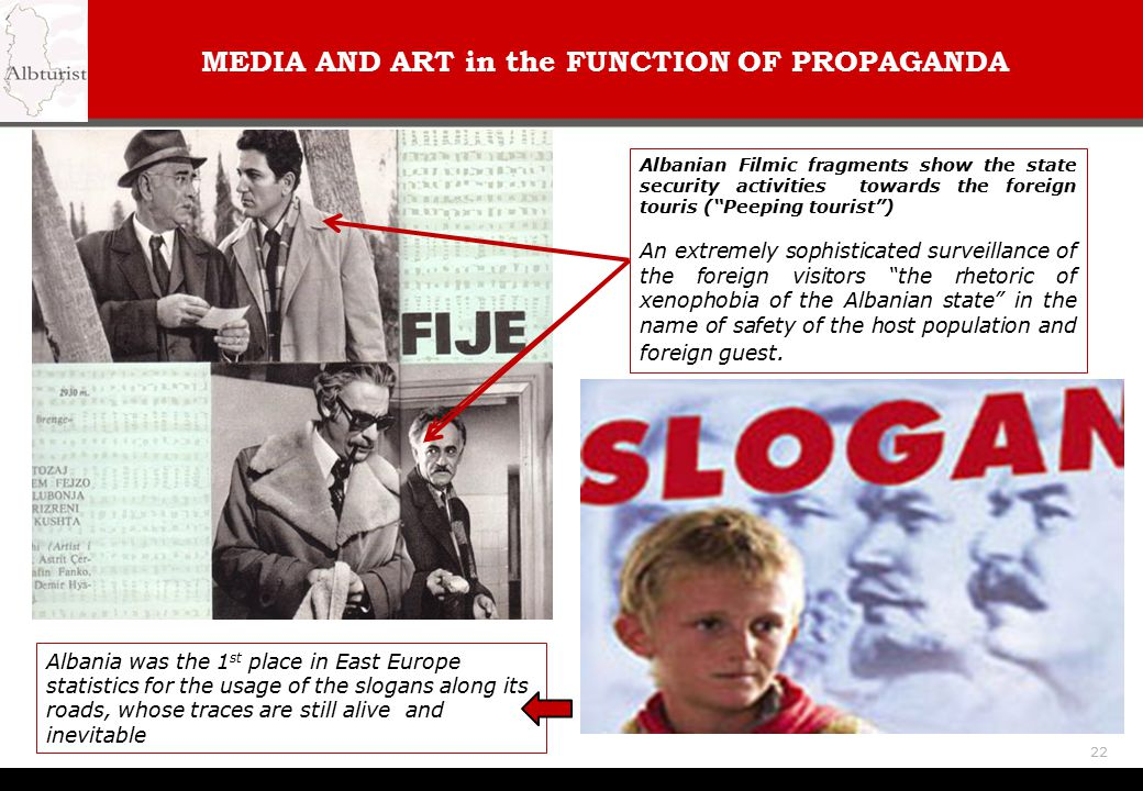 MEDIA AND ART in the FUNCTION OF PROPAGANDA