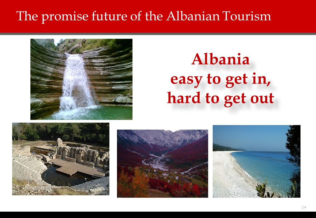 The promise future of the Albanian Tourism