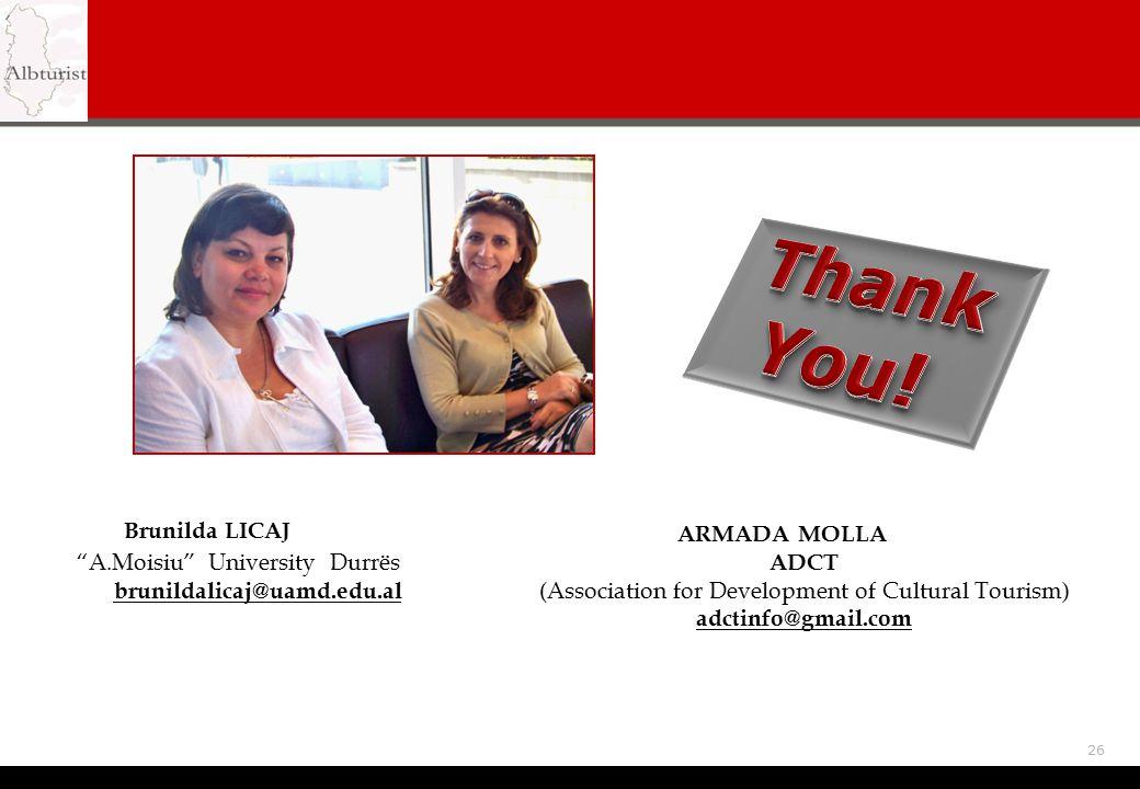 (Association for Development of Cultural Tourism)