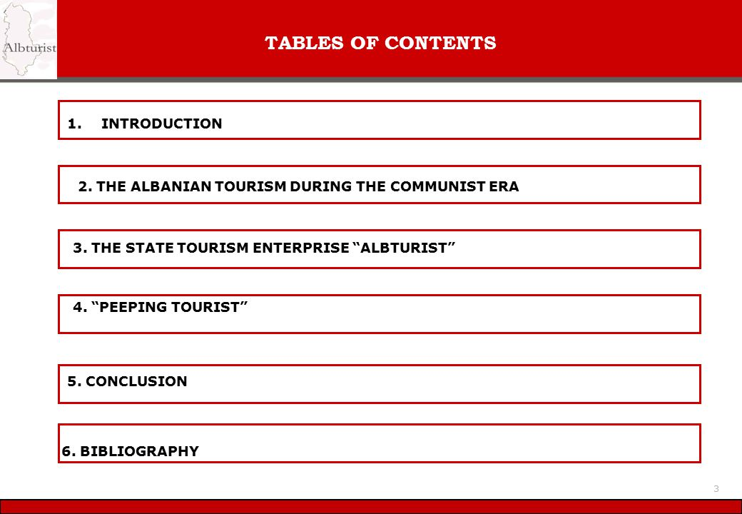 TABLES OF CONTENTS 1. INTRODUCTION