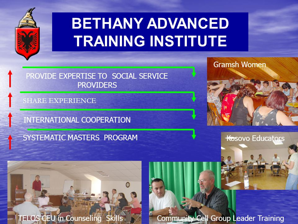 BETHANY ADVANCED TRAINING INSTITUTE