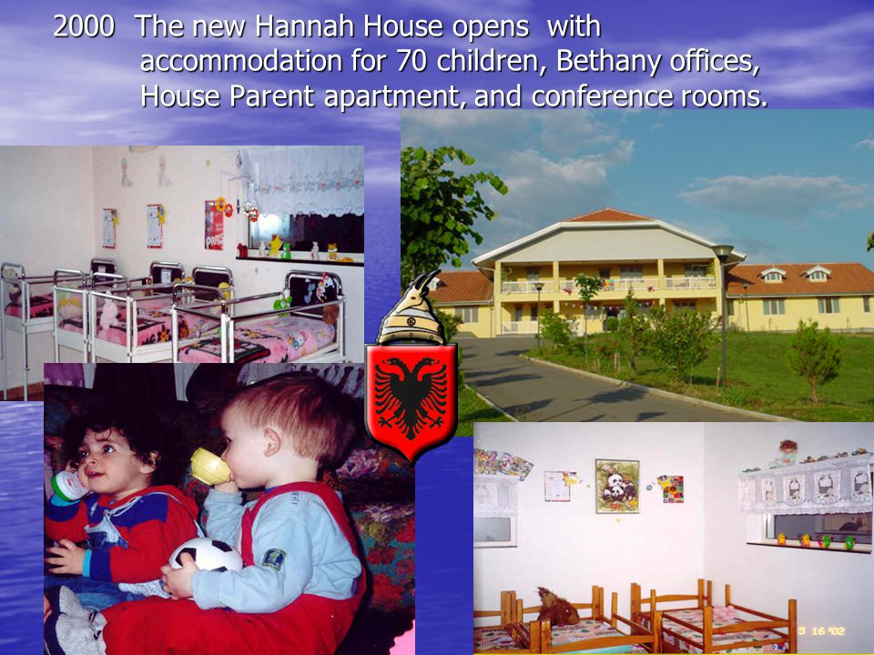 2000 The new Hannah House opens with