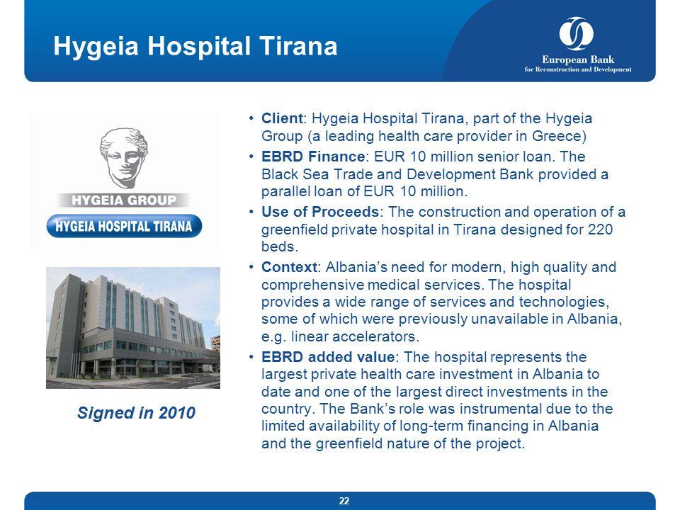 Hygeia Hospital Tirana