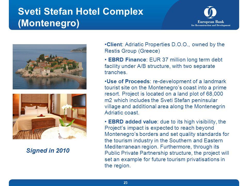 Sveti Stefan Hotel Complex (Montenegro)