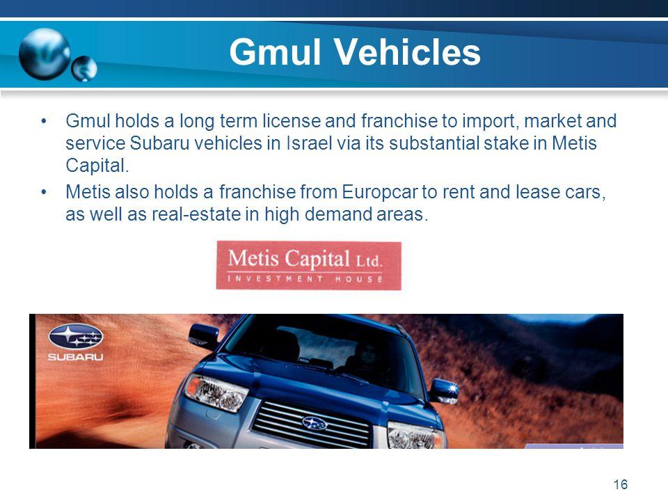 Gmul Vehicles