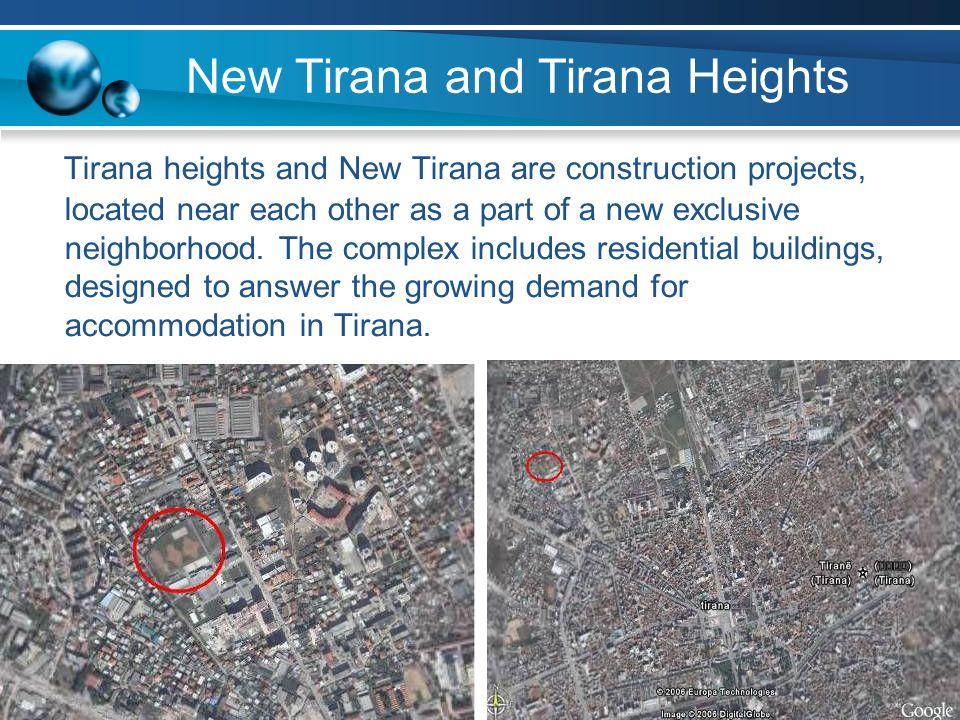 New Tirana and Tirana Heights