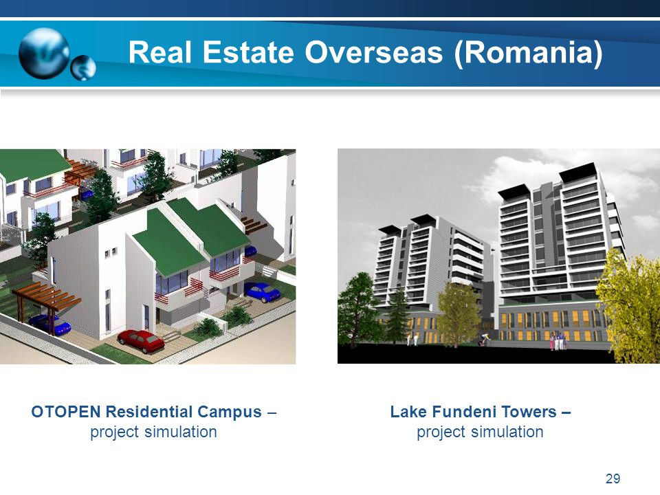 Real Estate Overseas (Romania)