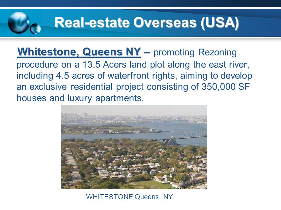 Real-estate Overseas (USA)