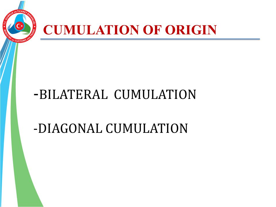 -BILATERAL CUMULATION