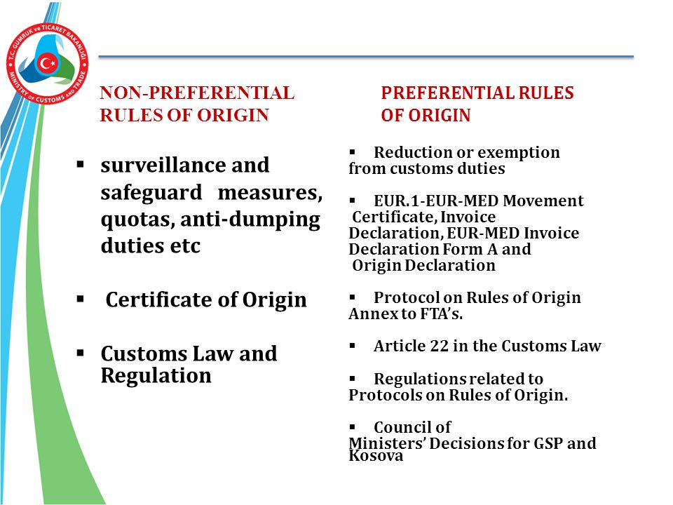 surveillance and safeguard measures, quotas, anti-dumping duties etc