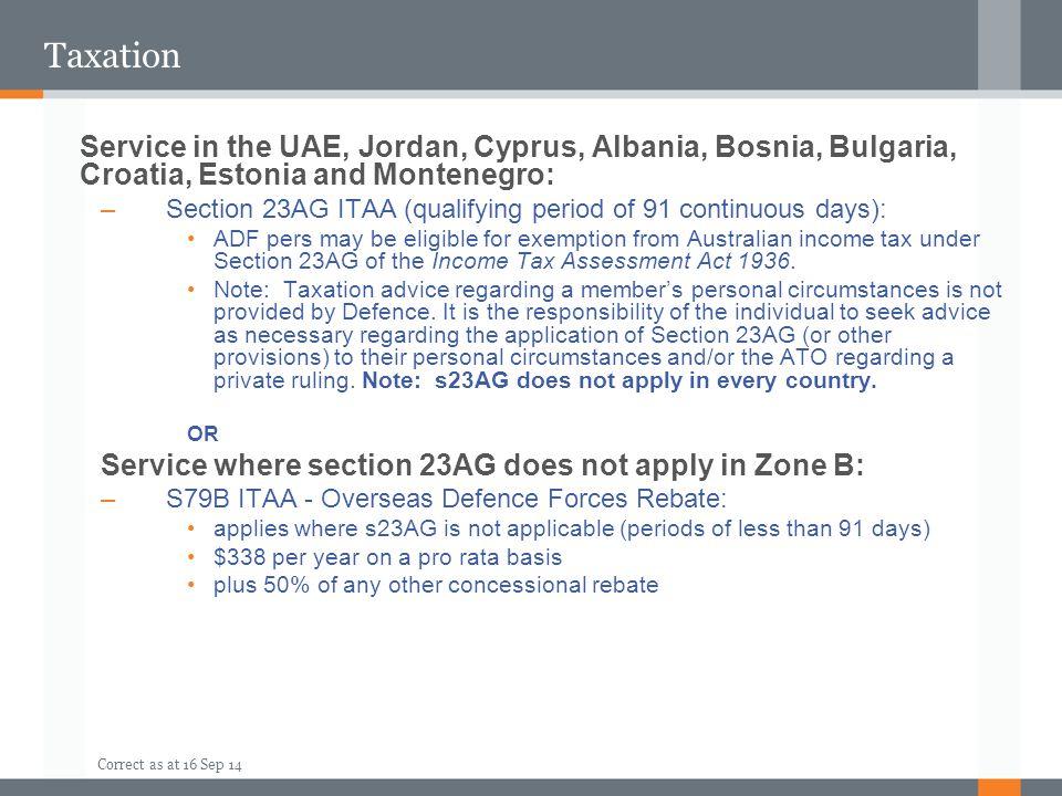 Taxation Service in the UAE, Jordan, Cyprus, Albania, Bosnia, Bulgaria, Croatia, Estonia and Montenegro: