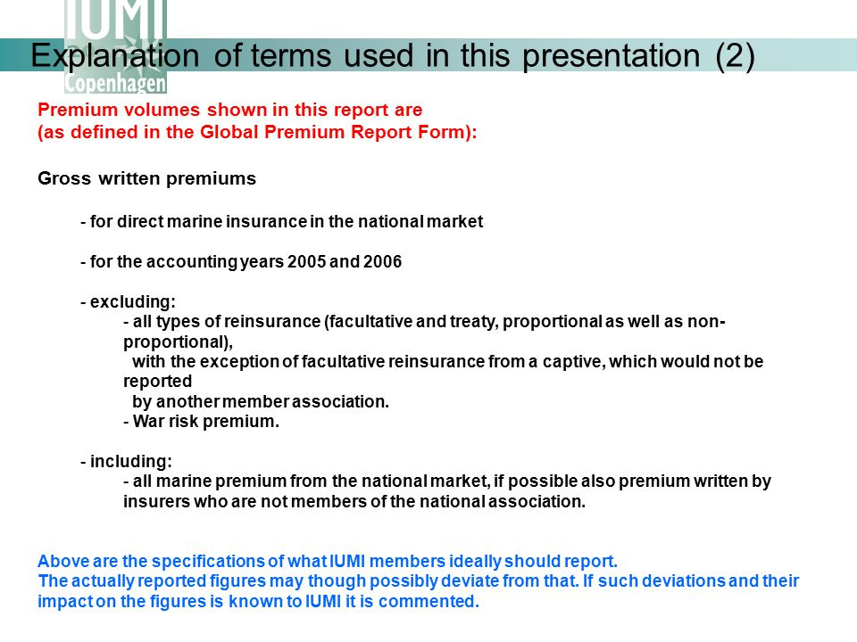 Explanation of terms used in this presentation (2)