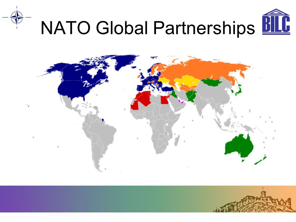NATO Global Partnerships