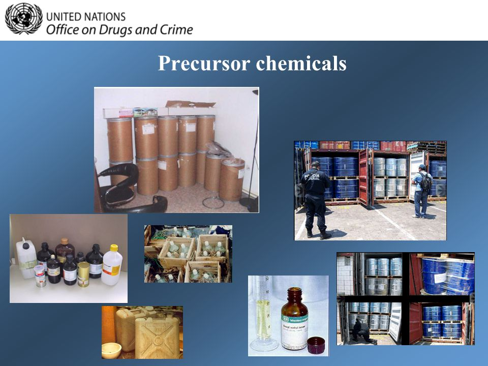 Precursor chemicals