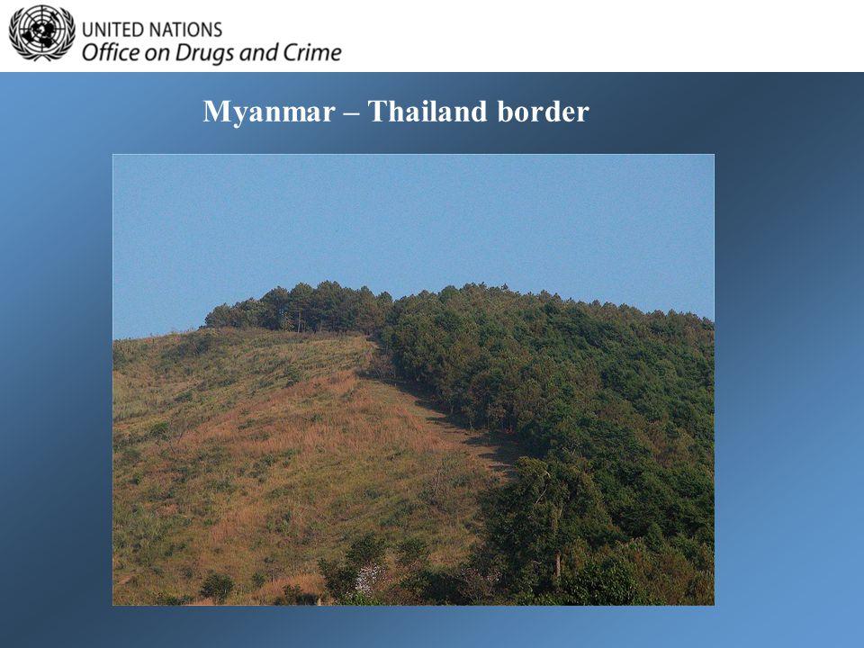 Myanmar – Thailand border
