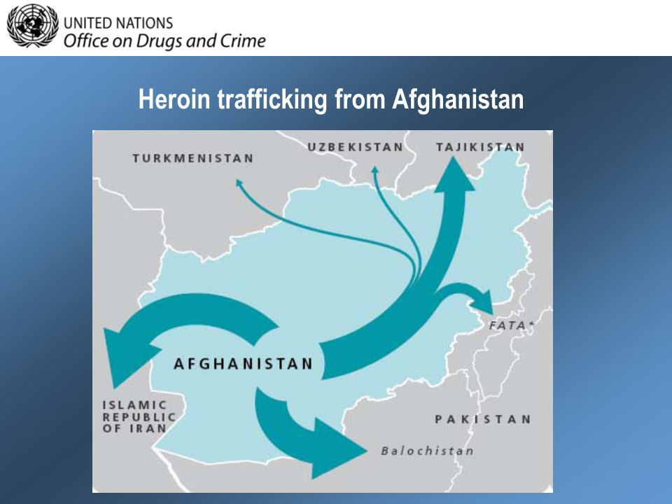 Heroin trafficking from Afghanistan