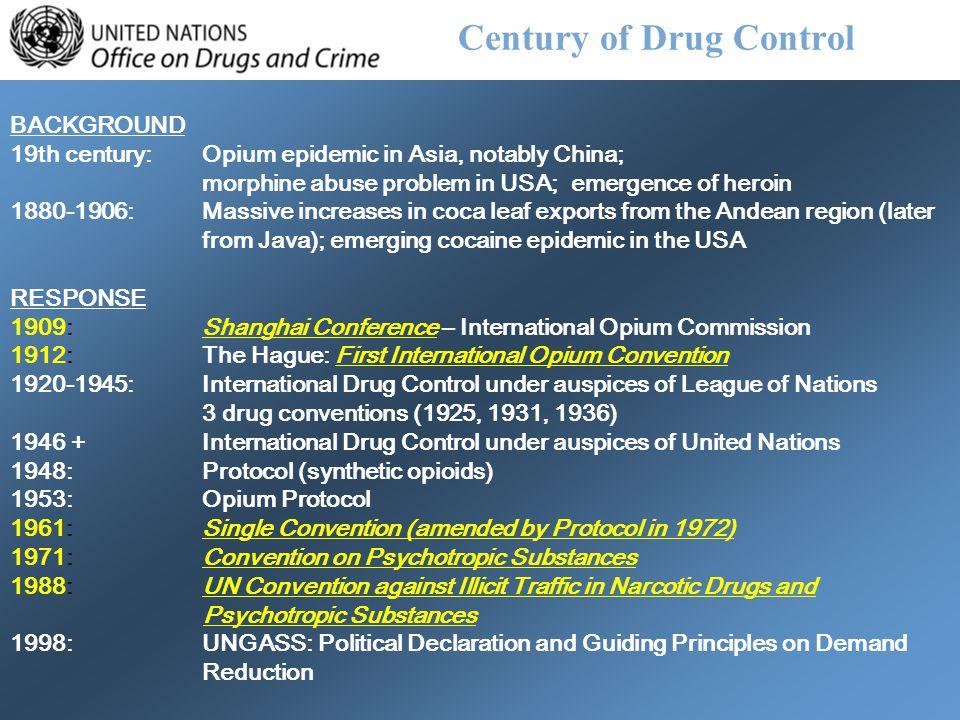 Century of Drug Control