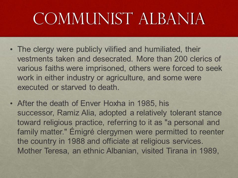 Communist albania
