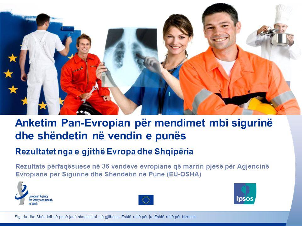 Anketim Pan-Evropian për mendimet mbi sigurinë dhe shëndetin në vendin e punës