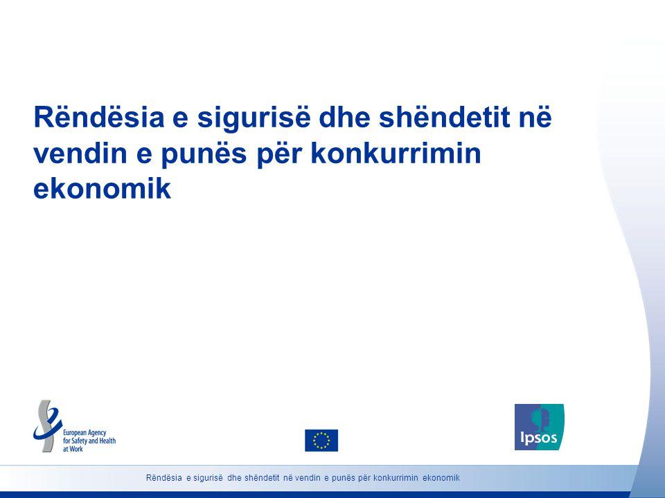 Rëndësia e sigurisë dhe shëndetit në vendin e punës për konkurrimin ekonomik