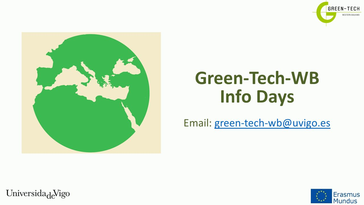 Email: green-tech-wb@uvigo.es