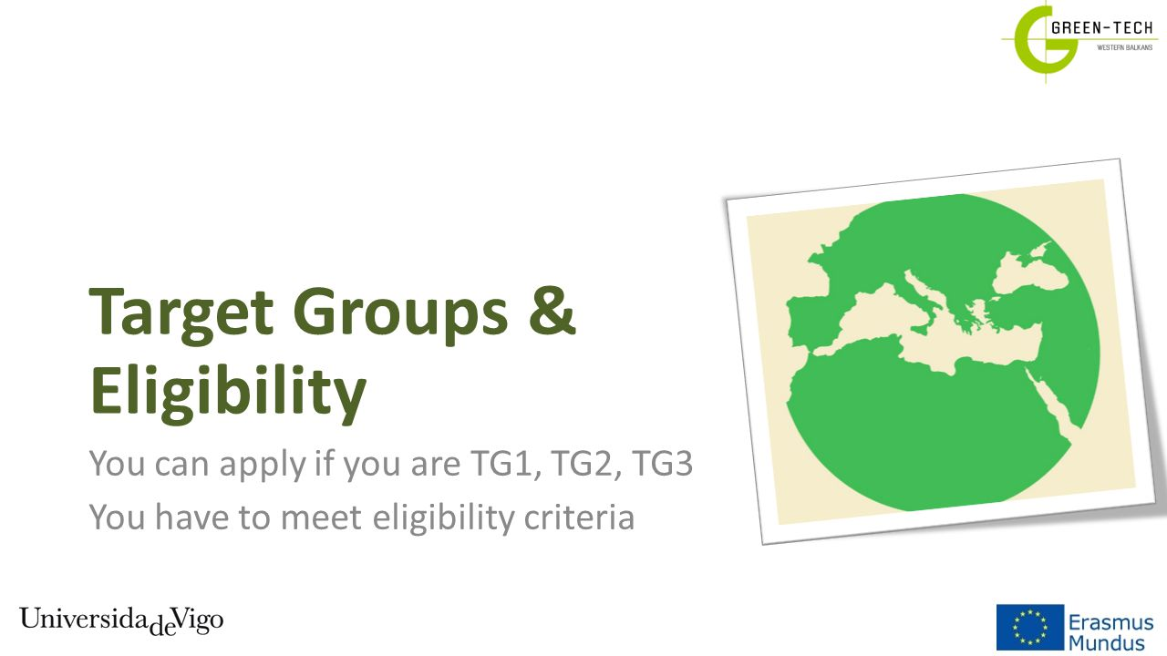 Target Groups & Eligibility