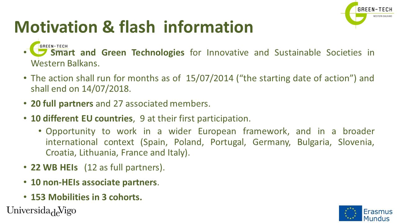 Motivation & flash information