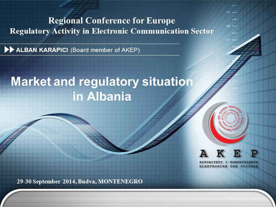 Market and regulatory situation in Albania