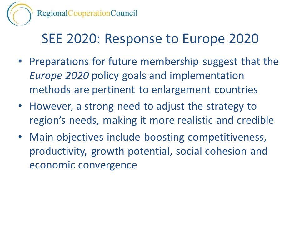 SEE 2020: Response to Europe 2020