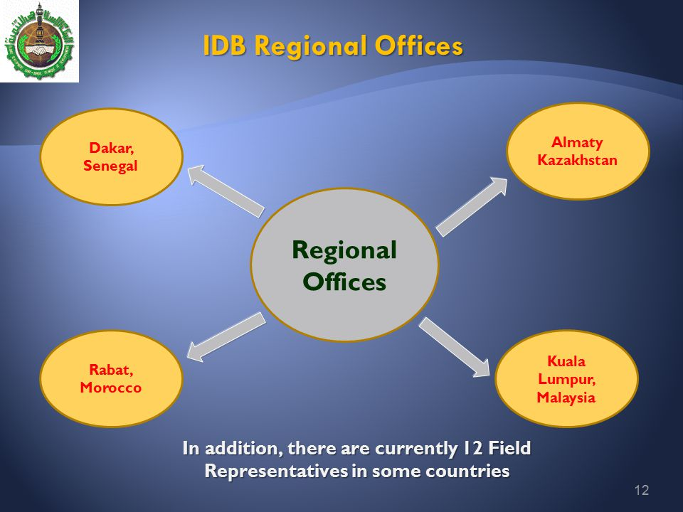 IDB Regional Offices Regional Offices