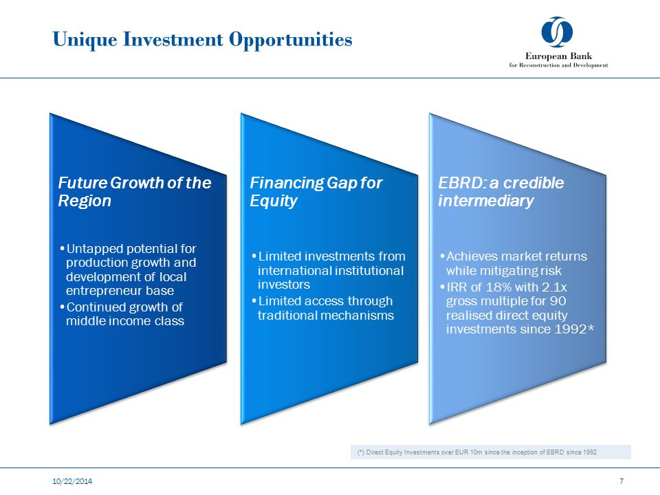 Unique Investment Opportunities