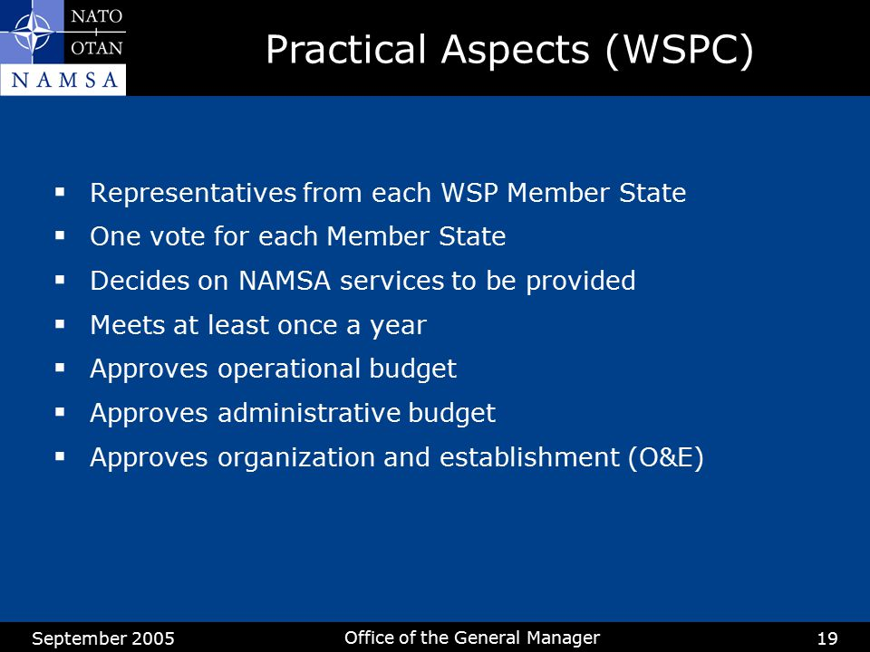 Practical Aspects (WSPC)