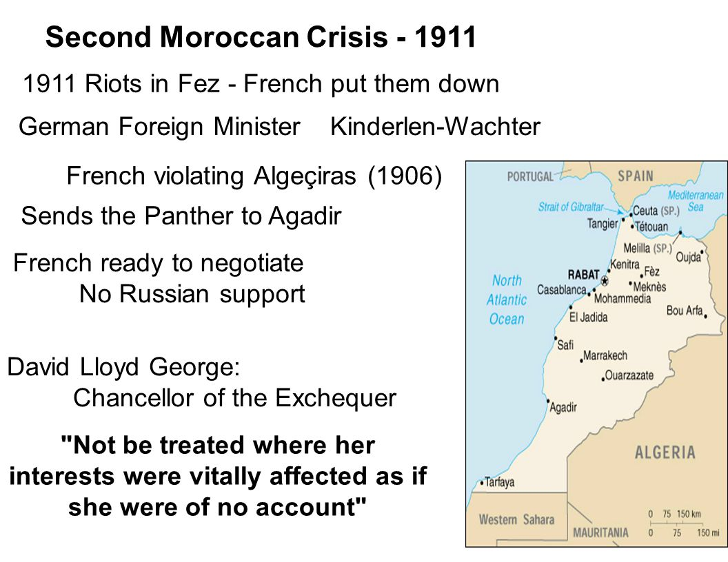 Second Moroccan Crisis - 1911