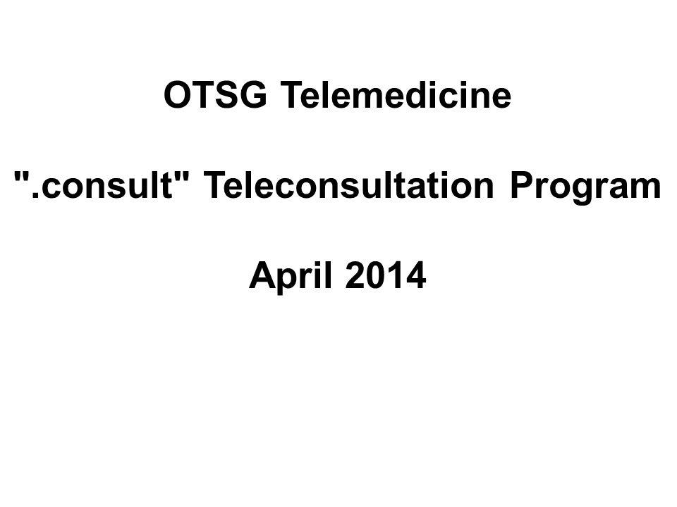 .consult Teleconsultation Program