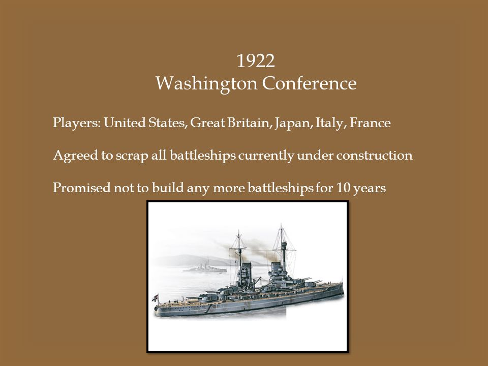 Washington Conference