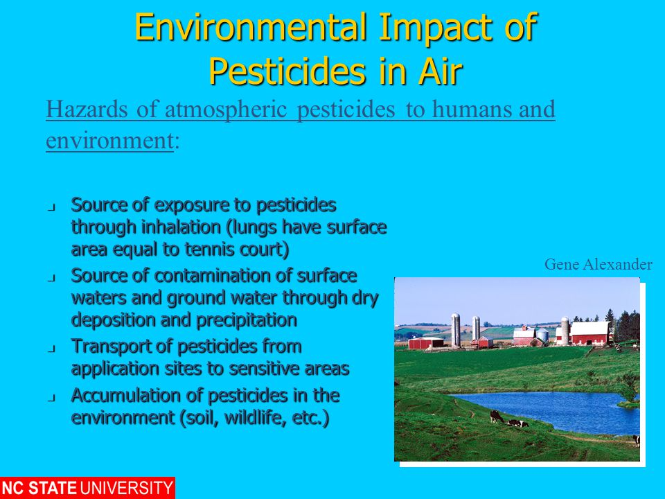 Environmental Impact of Pesticides in Air