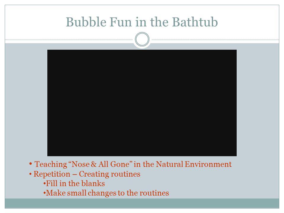 Bubble Fun in the Bathtub