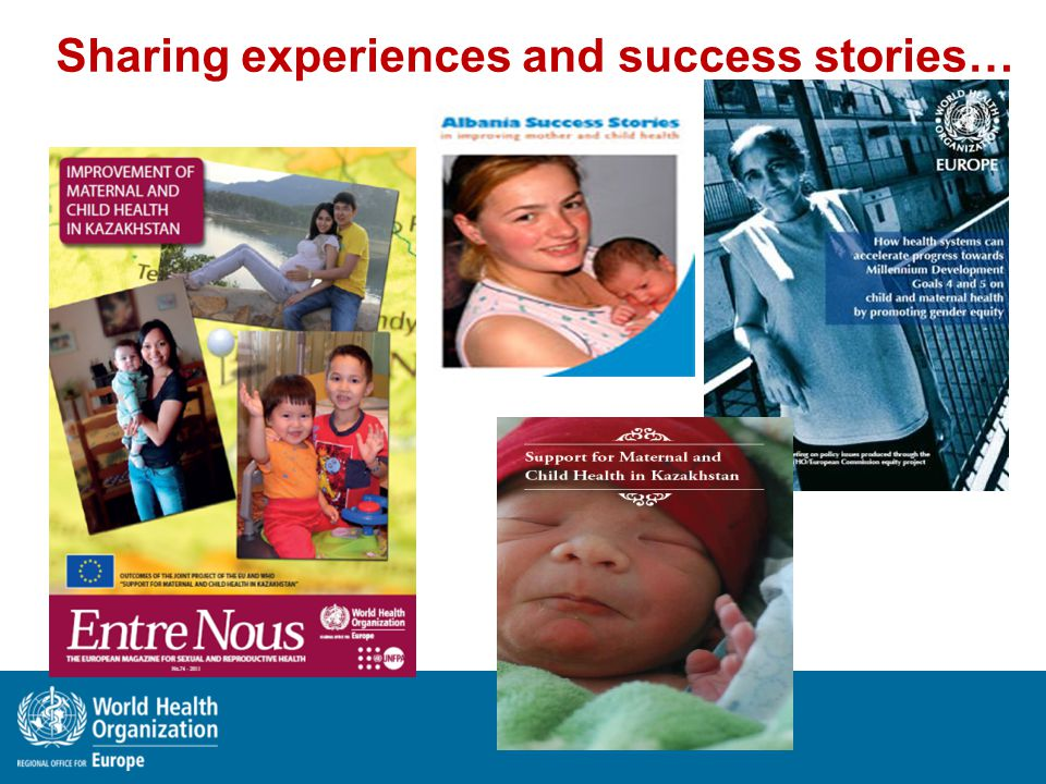 Sharing experiences and success stories…