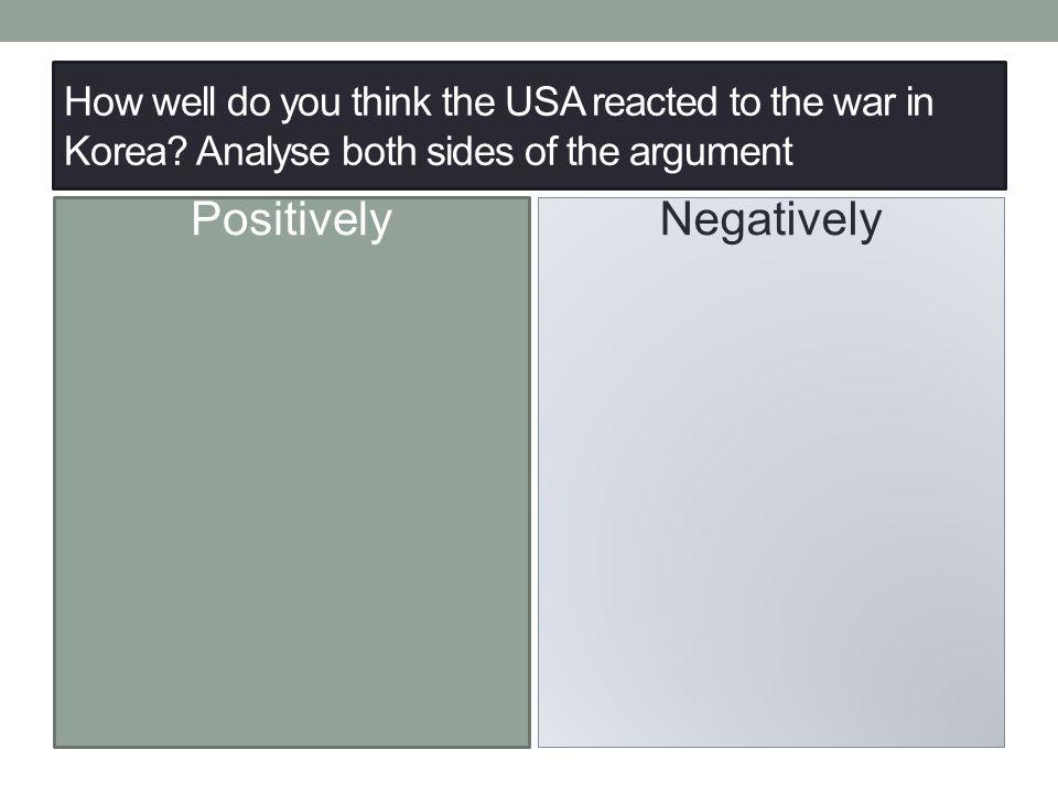 Positively Negatively