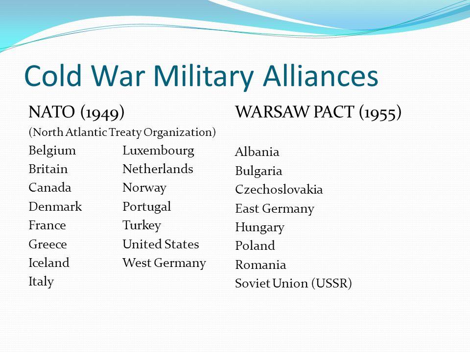 Cold War Military Alliances