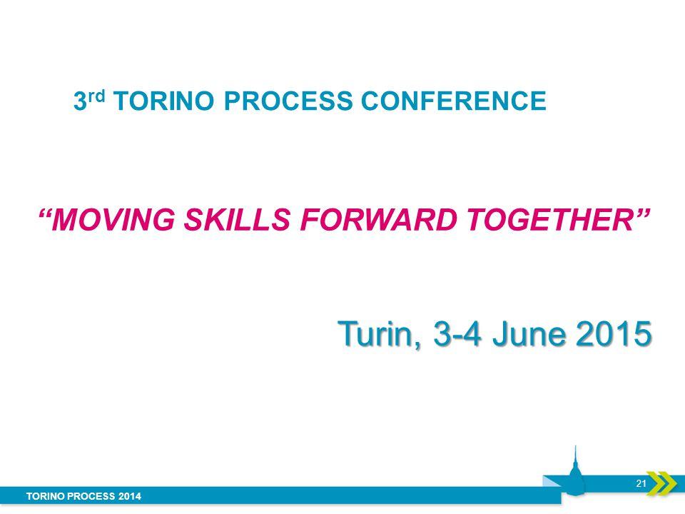 3rd TORINO PROCESS CONFERENCE