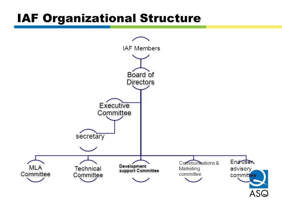 IAF Organizational Structure