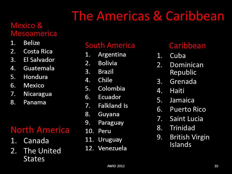 The Americas & Caribbean