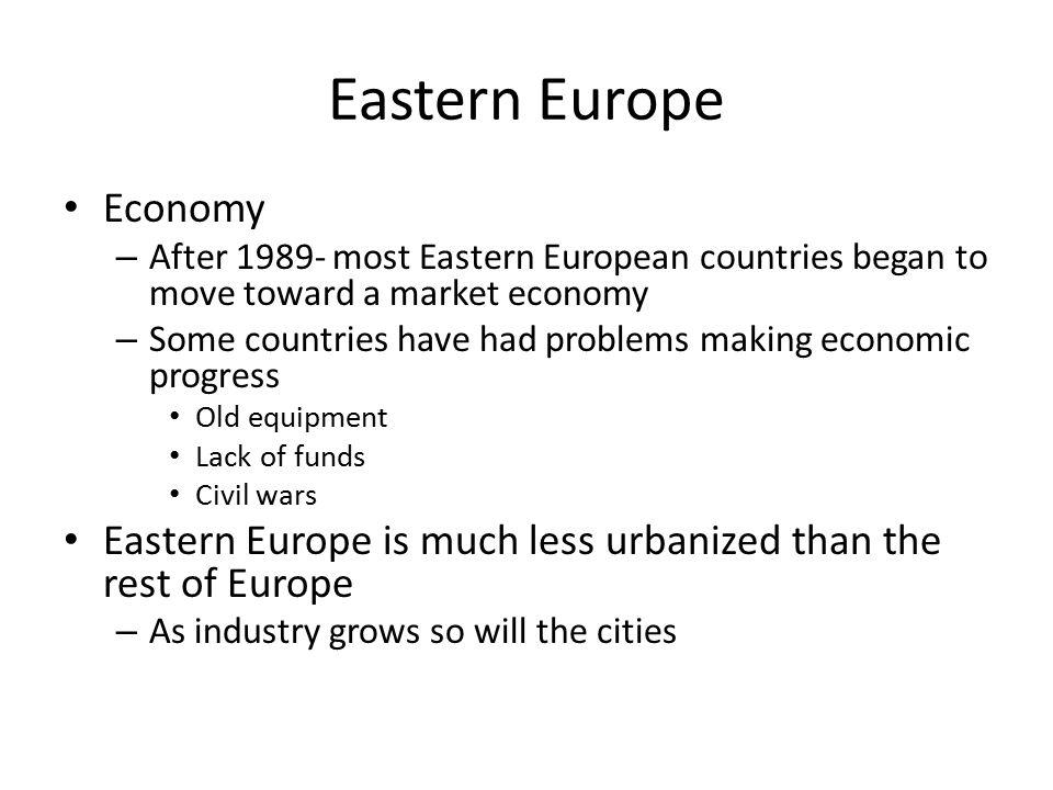 Eastern Europe Economy