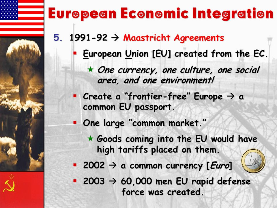 European Economic Integration